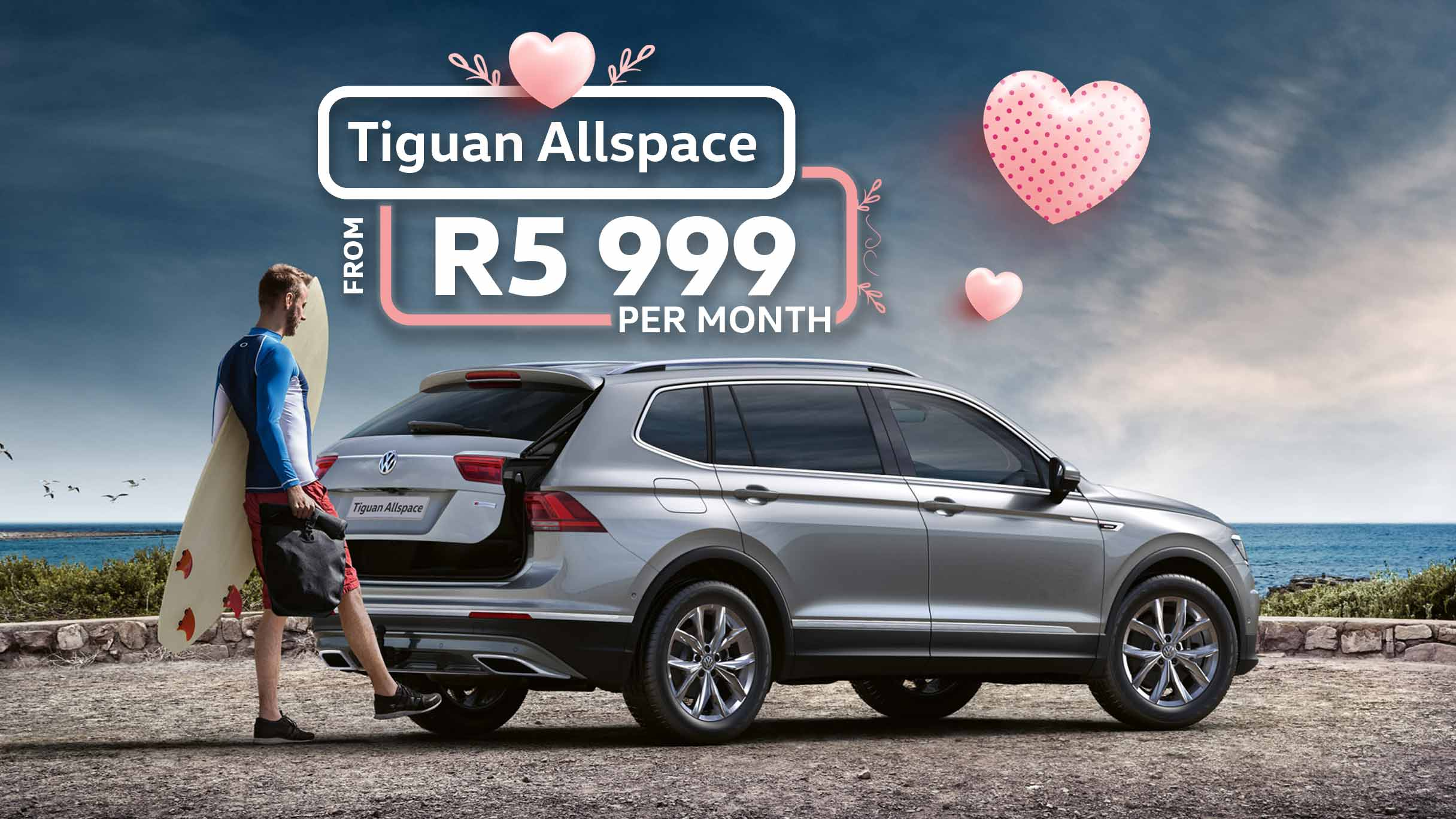 Tiguan Allspace offer at Barons VW